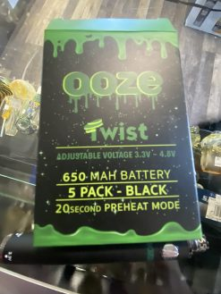 cartridge battery ooze variable voltage